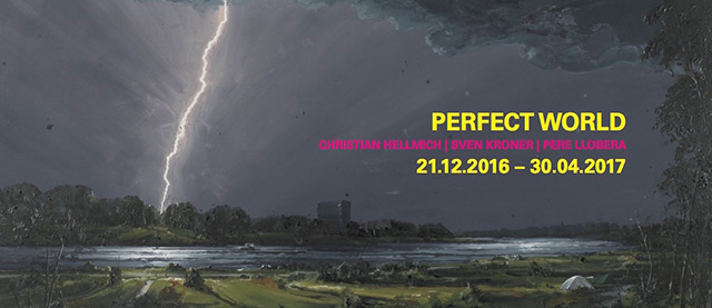 Flyer - Perfect World - Kunsthaus Kaufbeuren